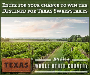 Destined for Texas Sweepstakes