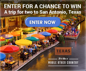 Fall in Love with San Antonio Sweepstakes
