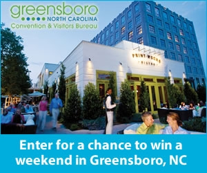 Greensboro CVB Sweepstakes